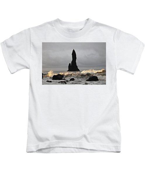 Icelandic Monolith Kids T-Shirt