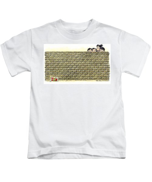 Immigrant Kids At The Border Kids T-Shirt