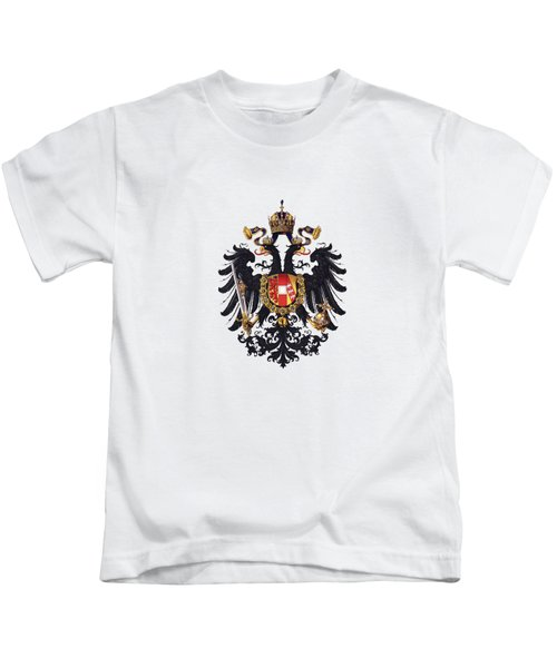 Imperial Coat Of Arms Of The Empire Of Austria-hungary 1815 Transparent Kids T-Shirt