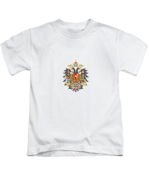 Imperial Coat Of Arms Of The Empire Of Austria-hungary Transparent Kids T-Shirt