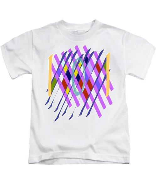 Improvised Geometry #1 Kids T-Shirt