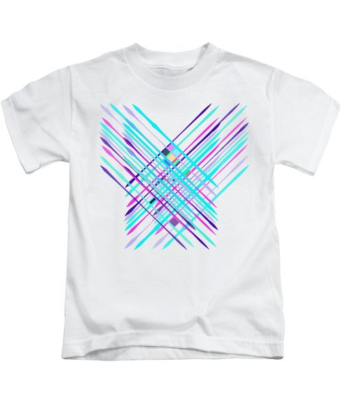 Improvised Geometry #2 Kids T-Shirt