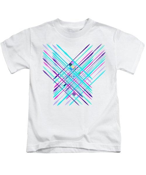 Improvised Geometry #2 Kids T-Shirt