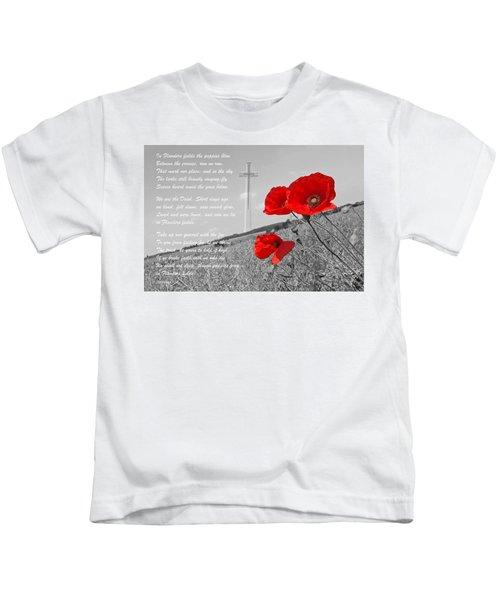 In Flanders Fields Kids T-Shirt