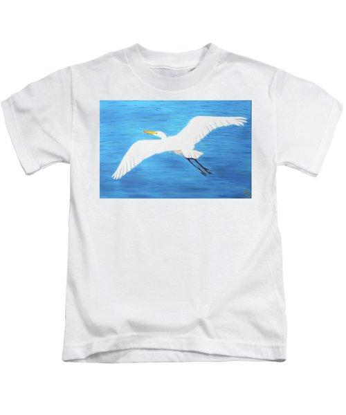 In Flight Entertainment Kids T-Shirt