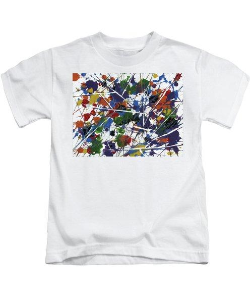 In Glittering Rainbow Shards Kids T-Shirt