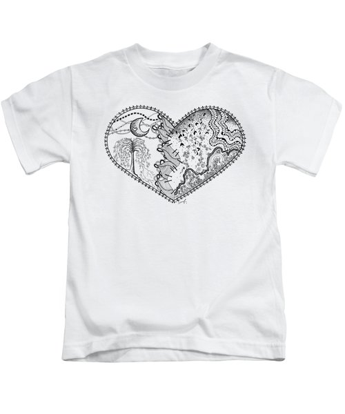 Repaired Heart Kids T-Shirt