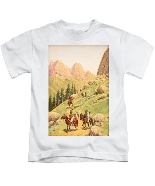 In The Big Foot Canyon Kids T-Shirt