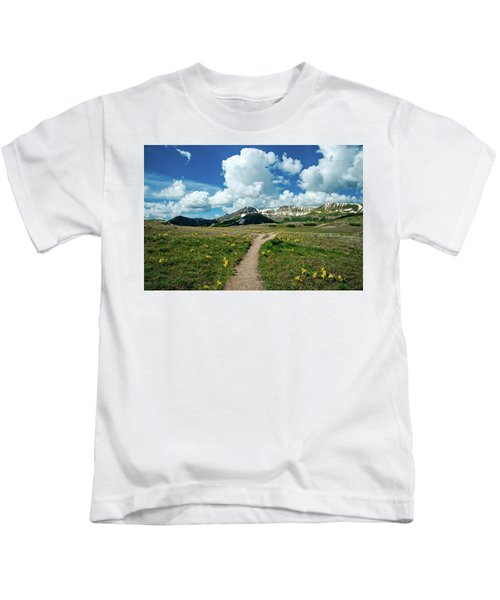Independence Pass Trail Kids T-Shirt