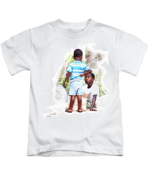Indigenous Caribbean Kids In Panama Kids T-Shirt