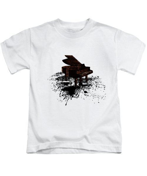 Inked Gold Piano Kids T-Shirt