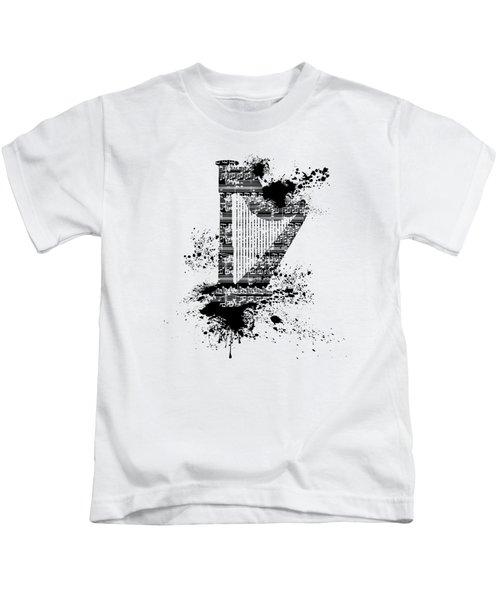 Inked Harp Kids T-Shirt