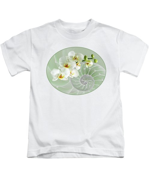 Intimate Fusion In Cool Green Kids T-Shirt