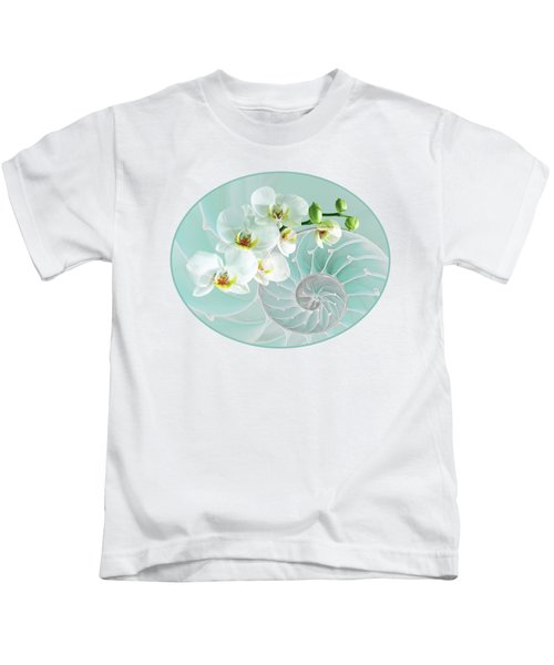 Intimate Fusion In Turquoise Kids T-Shirt