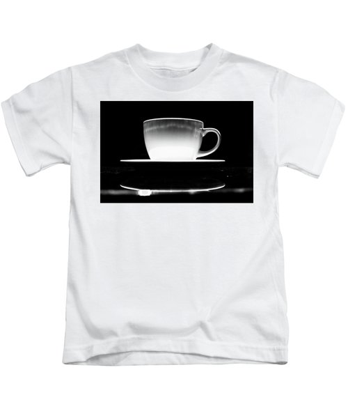 Intimidating Cup Of Coffee Kids T-Shirt