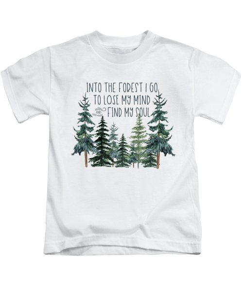 Into The Forest Kids T-Shirt
