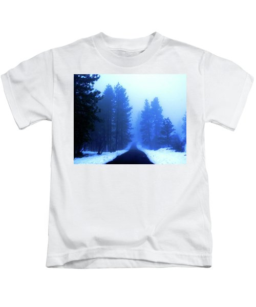 Into The Misty Unknown Kids T-Shirt