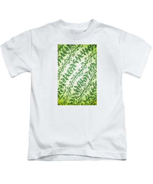 Into The Thick Of It, Green Kids T-Shirt