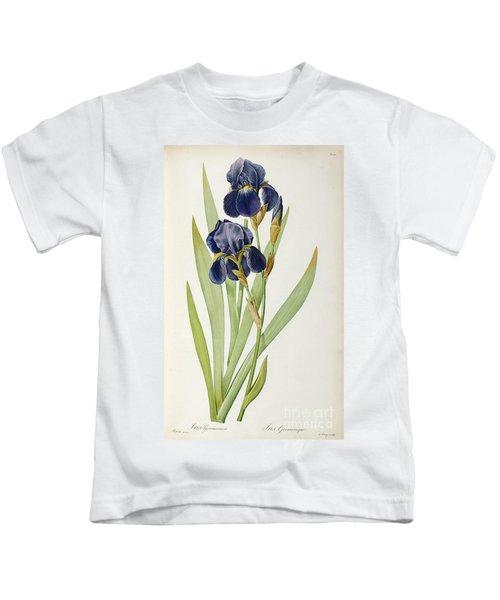 Iris Germanica Kids T-Shirt