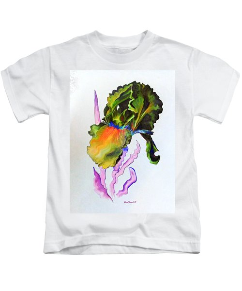 Iris Of A Different Color Kids T-Shirt