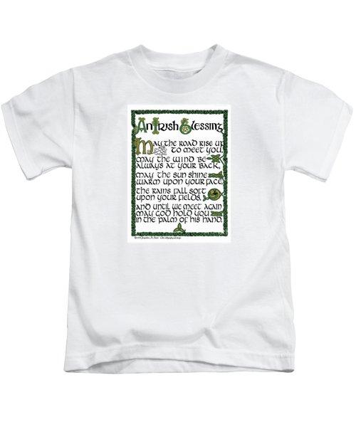 Irish Blessing Kids T-Shirt