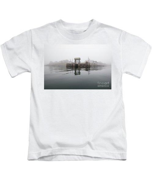 Island Boat Dock Kids T-Shirt