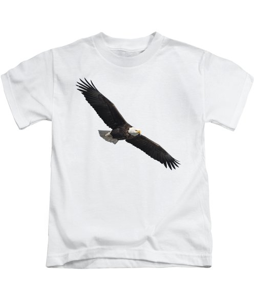 Isolated American Bald Eagle 2016-2 Kids T-Shirt
