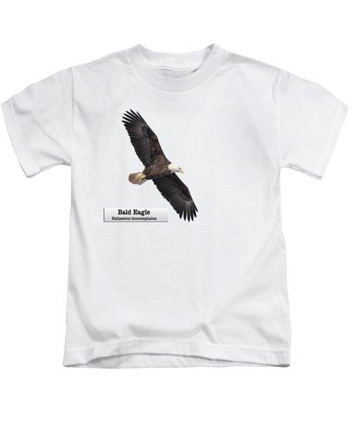 Isolated Bald Eagle 2018-1 Kids T-Shirt