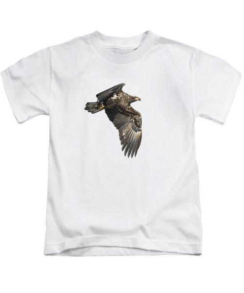 Isolated Eagle 2017-2 Kids T-Shirt
