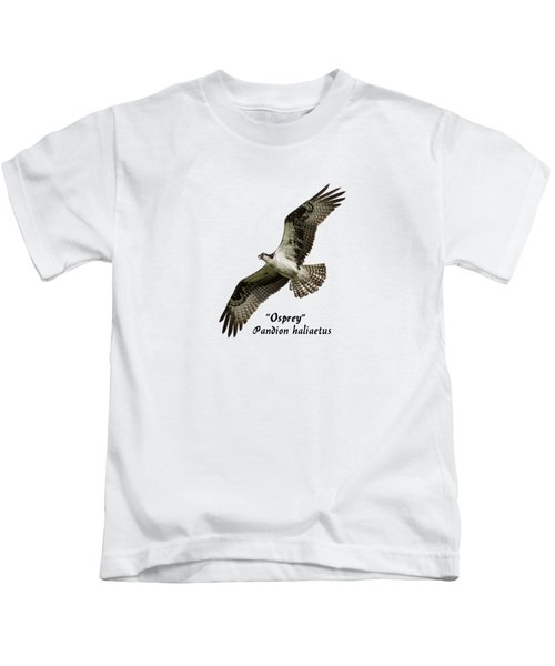 Isolated Osprey 2017-1 Kids T-Shirt