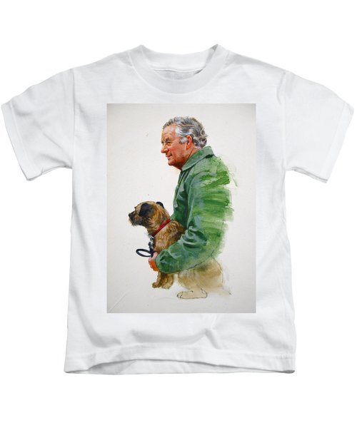 James Herriot And Bodie Kids T-Shirt