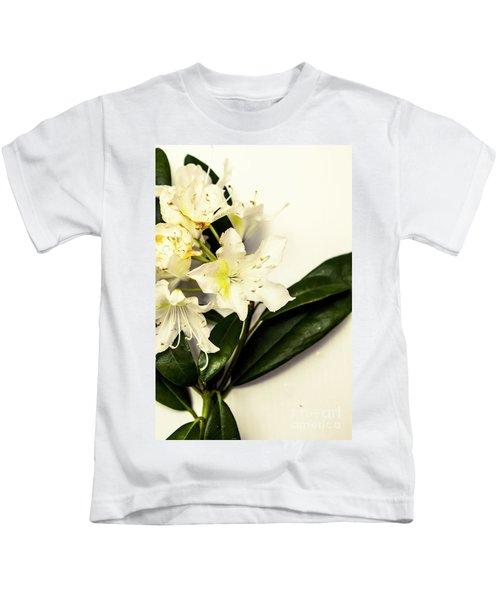 Japanese Flower Art Kids T-Shirt