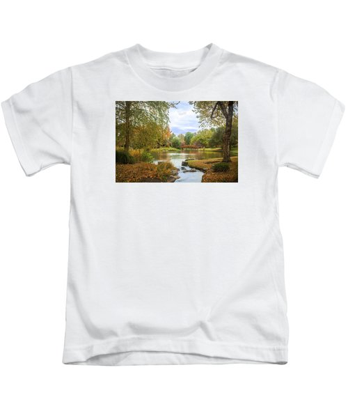 Japanese Garden View Kids T-Shirt