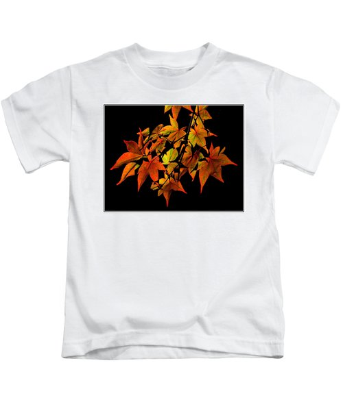 Japanese Maple Kids T-Shirt