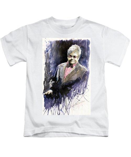 Jazz Sir Elton John Kids T-Shirt