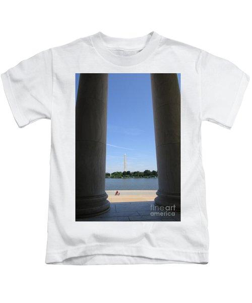 Jefferson Memorial 5 Kids T-Shirt