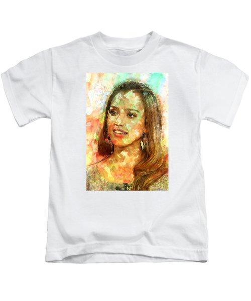 Jessica Alba Kids T-Shirt