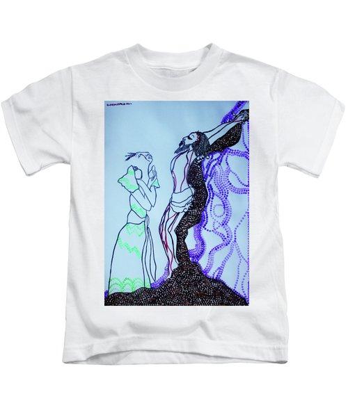Jesus Crucifixion Kids T-Shirt
