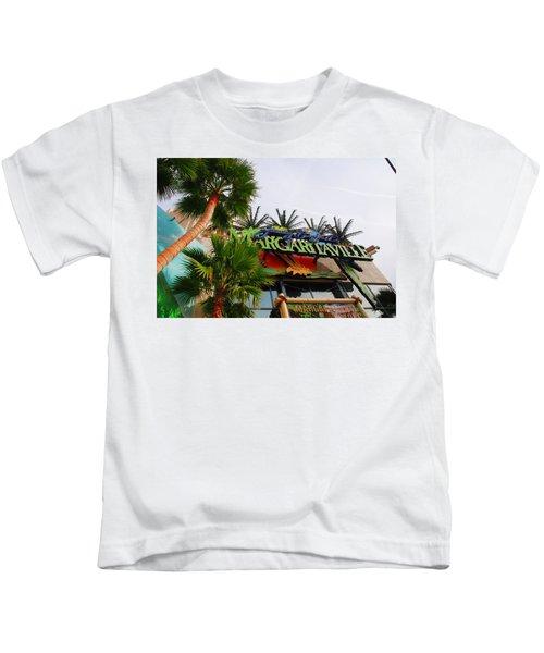 Jimmy Buffets Margaritaville In Las Vegas Kids T-Shirt
