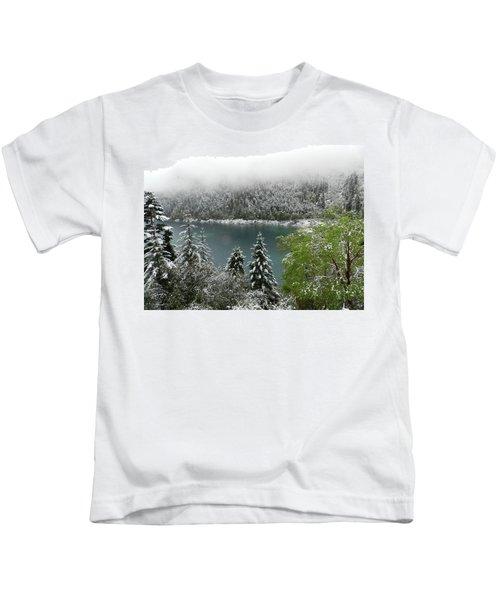 Jiuzhaigou National Park, China Kids T-Shirt