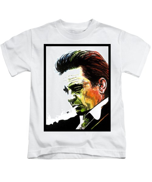Johnny Cash Kids T-Shirt