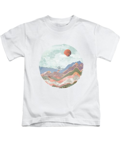 Journey To The Clouds Kids T-Shirt by Katherine Smit