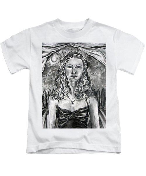 Resolute - Self Portrait Kids T-Shirt