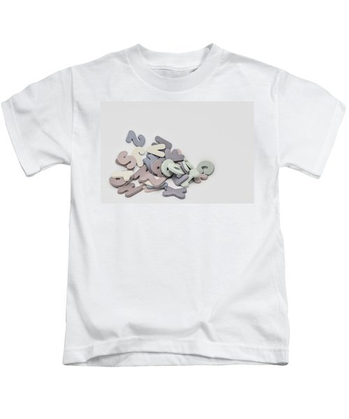 Jumbled Letters Kids T-Shirt