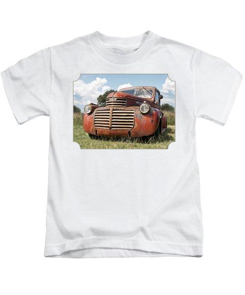 Just Resting - Vintage Gmc Truck Kids T-Shirt