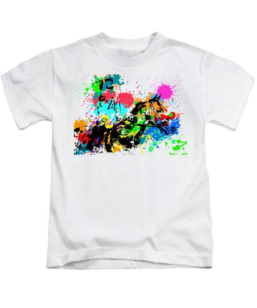 Justify Pop Art Kids T-Shirt