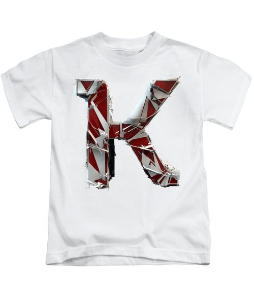 K Is For King Kids T-Shirt