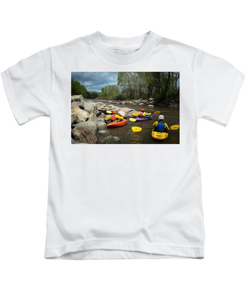 Kayaking Class Kids T-Shirt