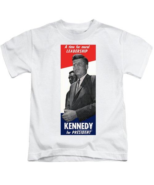 Kenndy For President Kids T-Shirt