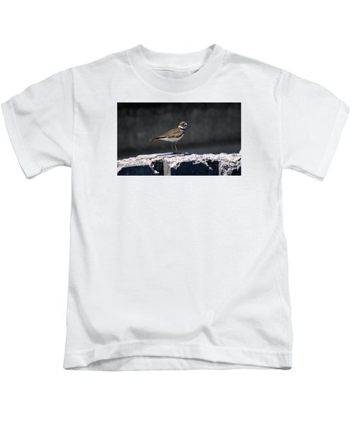 Killdeer Kids T-Shirt by M Images Fine Art Photography and Artwork